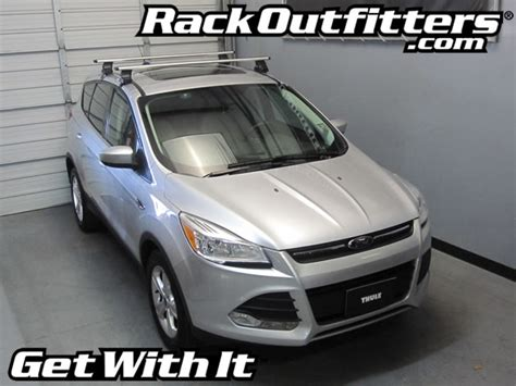 ford escape roof rack bike rack