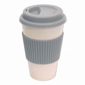 Bambus Becher Bedrucken : coffee to go becher eco cup grau ~ Orissabook.com Haus und Dekorationen