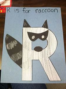 best 25 letter r crafts ideas on pinterest preschool With construction paper letters