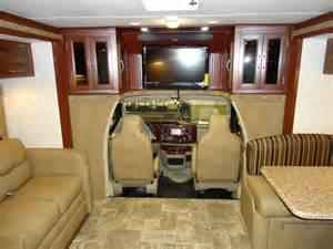 Class B Motorhome RV Interior