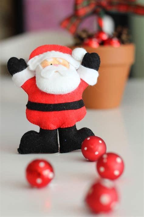 weihnachtsmann selber basteln weihnachtsdeko selber basteln kleiner aufwand gro 223 e wirkung