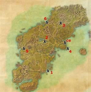 Glenumbra Treasure Map Locations Elder Scrolls Online Guides