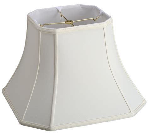 white square l shade bell cut corner silk square l shade l shade pro