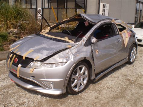Civic Type R Japan by Totaled Fn2 Civic Type R In Japan Only 3 000kms