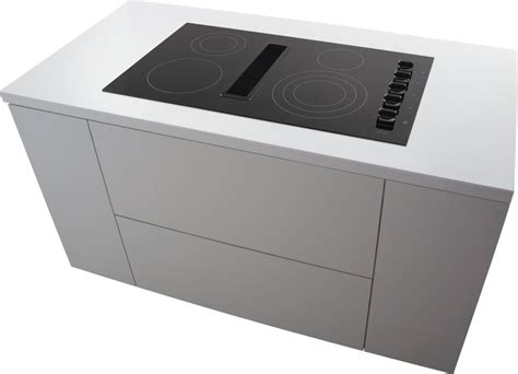 downdraft exhaust fan for frigidaire rc36de60pb 36 inch electric cooktop with 4