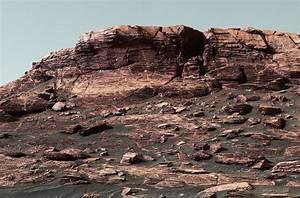 NASA's Curiosity Mars rover climbing toward ridge top ...