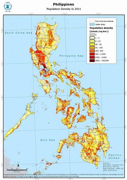 Population Philippines Density Ica Wfp Geonode
