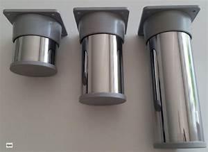 Pieds Réglables En Hauteur : pied base d 39 armoire meubles 50mm de r glable en hauteur ~ Dailycaller-alerts.com Idées de Décoration