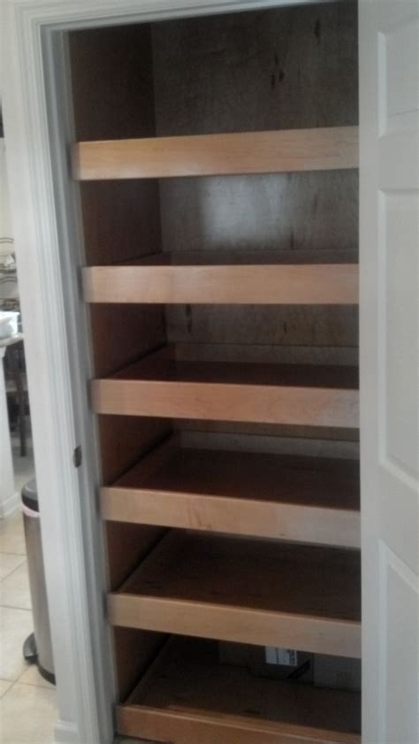 pantry cabinet pull out shelves for the home