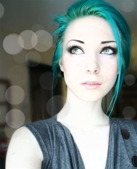 Best 25 Teal Hair Ideas On Pinterest Teal Ombre Hair