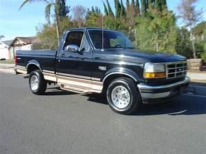 1994 Ford F-150 Black Short Bed Single Cab Eddie Bauer 1996 1995 1993