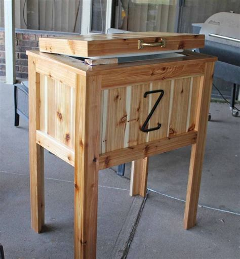 wooden ice box plans woodworking projects plans