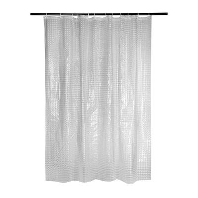 tenda doccia trasparente tenda doccia cube 3d trasparente l 180 x h 200 cm prezzi e
