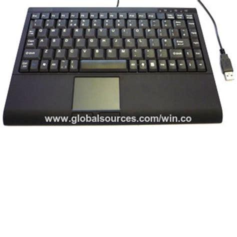 china customized wired keyboard  touchpad  usb port