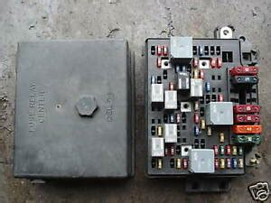 98 Jimmy Fuse Box Diagram by Fuse Relay Power Box Chevy S10 Blazer Jimmy
