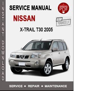 nissan  trail   service repair manual  nissan service manual