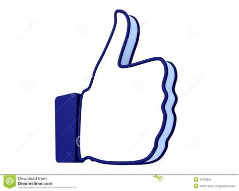 Like Hand Icon Stock Illustration. Illustration Of Fingers