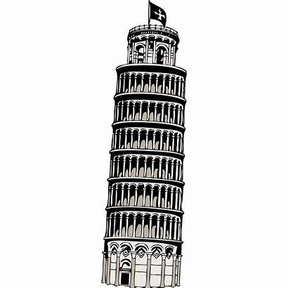 Pisa Tower Leaning Transparent Clipart Pluspng Windmill