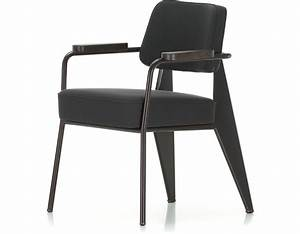 Prouve fauteuil direction chair hivemoderncom for Fauteuil rocking chair design