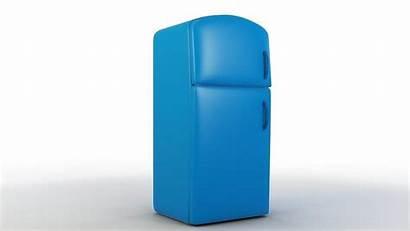 Refrigerator Cartoon 3d Kitchen Models Interior Cgtrader