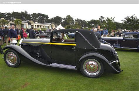1934 Bugatti Type 57 Images. Photo