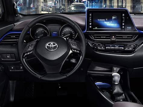 Interni Toyota C-hr 2017