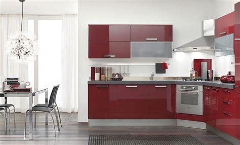 cocinas rojas modernas affordable cocina premiun blanco