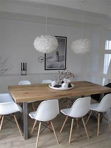 quelle deco salle a manger choisir idees en 64 photos With salle À manger contemporaine avec decoration interieur style scandinave
