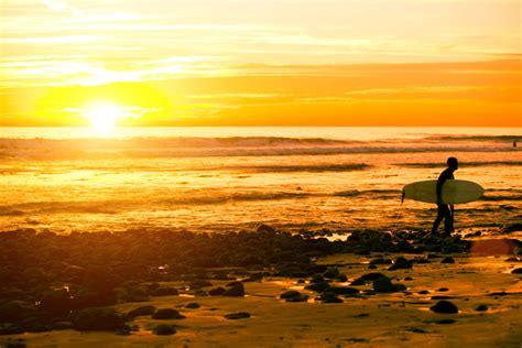sunset surfer custom wallpaper