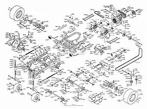 Dixon Ztr 8025  2002  Parts Diagram For Chassis