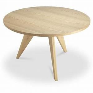 Table Jean Prouvé : gu ridon dining table jean prouv style wood ~ Melissatoandfro.com Idées de Décoration