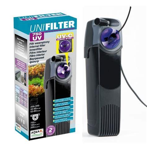 aquael unifilter uv c 750 filtre interne avec st 233 rilisateur uv c leds int 233 gr 233 pour aquarium de