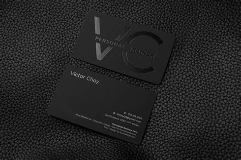 Business card design project for female personal trainer business card design contest from personal trainer business cards , image source: FREE Impressive Hard Suede Personal Trainer Business Card ...