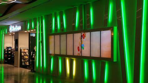 led lighting retail hudson las vegas airport