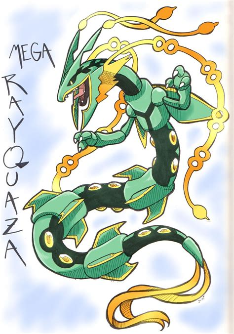Pokemon Mega Rayquaza Pokemon Pinterest