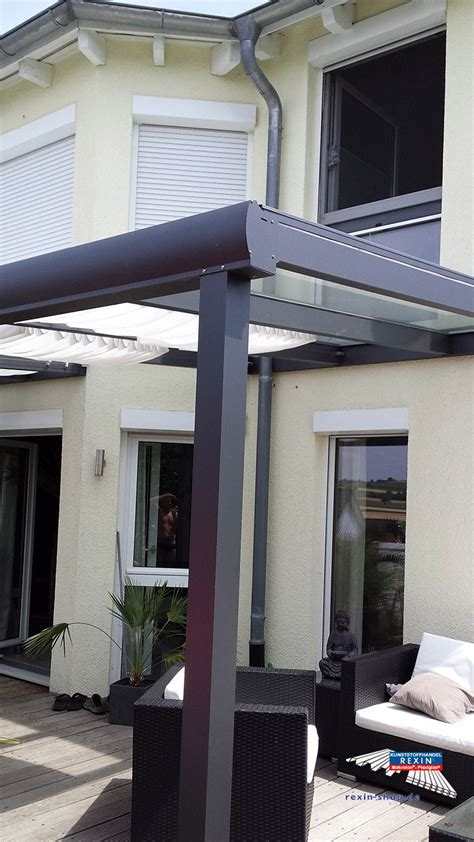 terrassenüberdachung glas alu 63 besten alu terrassen 252 berdachung rexopremium vsg glas kundenbilder bilder auf