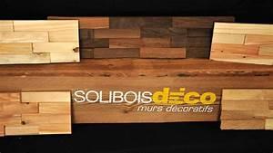 panneau mural bois decoratif 9 soliboisdeco mur en bois With mur en bois decoratif