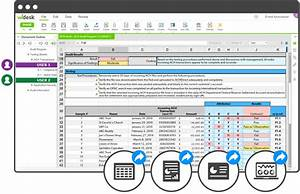 compliance management software solution workiva With audit workpaper template