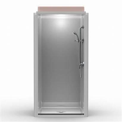 Shower Transfer Ada Piece Wall Smooth Showers