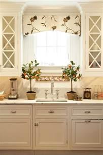 Kitchen Curtain Ideas Above Sink by Kitchen Valance Design Ideas