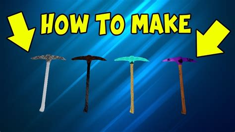 custom pickaxe  strucid youtube