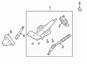 Ford Focus Ignition Lock Housing  Manual Trans