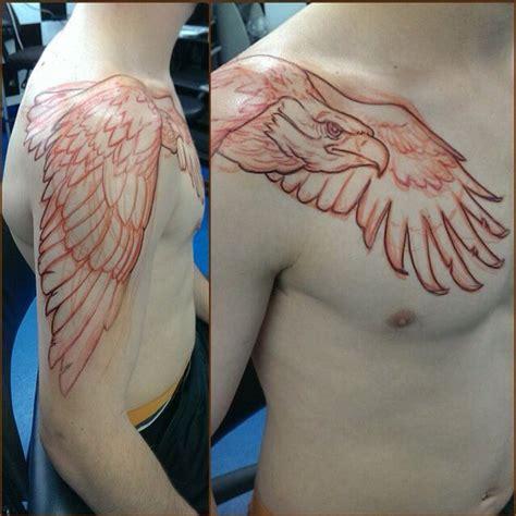 Eagle Wings Tattoo Shoulder  Wwwimgkidcom  The Image