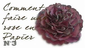 Comment Faire Des Roses En Papier : comment faire une rose en papier n 3 id esd copeinture ~ Melissatoandfro.com Idées de Décoration