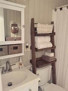 Over, The, Toilet, Ladder, Shelf, Toilet, Topper, Bathroom, Storage