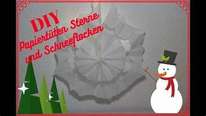 Basteln Mit Papiertüten : diy sterne und schneeflocken aus papiert ten f r ~ A.2002-acura-tl-radio.info Haus und Dekorationen