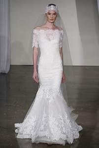 fall 2013 wedding dress trends bridal fashion marchesa With wedding dress off the shoulder lace
