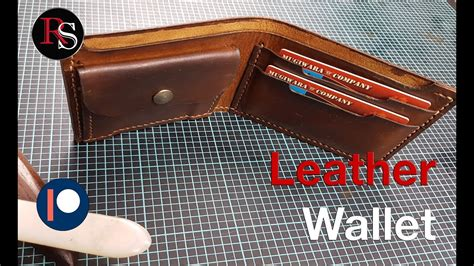 Making A Handmade Leather Wallet Diy Pvc Kayak Rack For Truck Wedding Menu Cards Ideas Frameless Art Magic Circle Hair Styling Rollers Curlers Leverag Water Filter Bottle Birthday Gift Husband Guitar Stand Single
