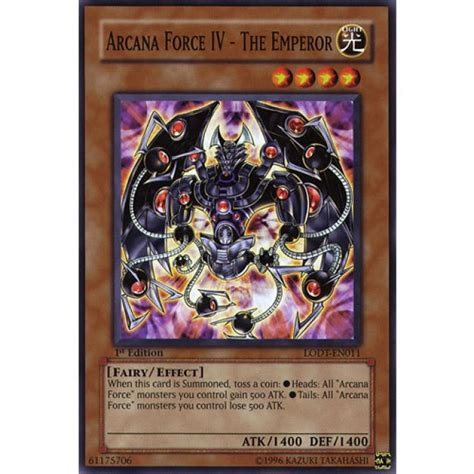 arcana force iv the emperor lodt en011 unlimited edition
