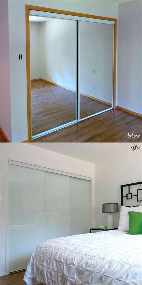 sliding closet doors for bedrooms new white glass sliding closet doors in the bedroom